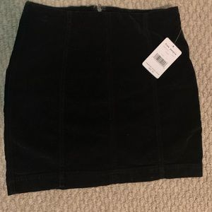 Brand new free people cotton felt skirt tags on